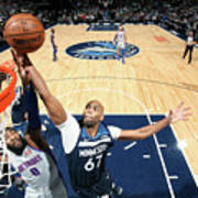 Andre Drummond and Taj Gibson Poster