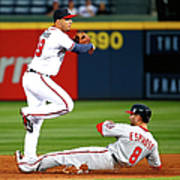 Andrelton Simmons and Danny Espinosa Poster