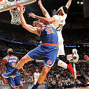 Anthony Davis and Ron Baker Poster