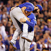 Anthony Rizzo and Jake Arrieta Poster