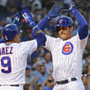 Anthony Rizzo and Javier Baez Poster