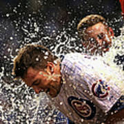 Anthony Rizzo and Kris Bryant Poster