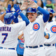 Anthony Rizzo and Rene Rivera Poster