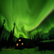 Aurora Borealis Alaska Poster
