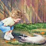 Autumn Catnip Poster