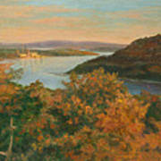 Autumn Hudson Highlands Poster