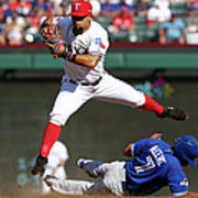 Ben Revere and Rougned Odor Poster