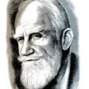 Bernard Shaw - Mixed Media Poster