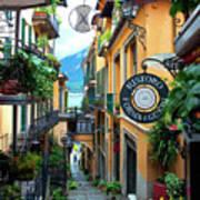 Bird's-Eye in Bellagio - Lake Como, Bellagio, Italy Poster