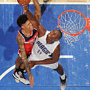 Bismack Biyombo and Kelly Oubre Poster