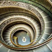 Bramante Spiral Staircase Vatican City Poster