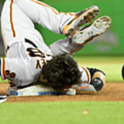 Brandon Crawford and Buster Posey Poster
