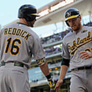 Brandon Moss and Josh Reddick Poster