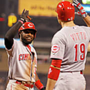 Brandon Phillips and Joey Votto Poster