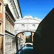 Bridge Of Sighs  Venice  Italy Poster