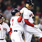 Brock Holt and Mookie Betts Poster