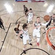 Brooklyn Nets v Milwaukee Bucks Poster