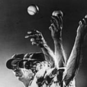 Carl Hubbell Poster