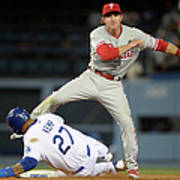 Chase Utley and Matt Kemp Poster