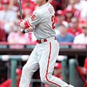 Chase Utley Poster