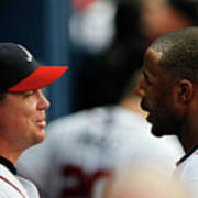 Chipper Jones and Jason Heyward Poster