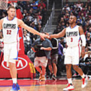 Chris Paul and Blake Griffin Poster