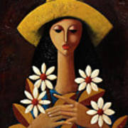 Cinco Margaritas Poster