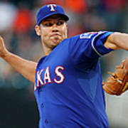 Colby Lewis Poster