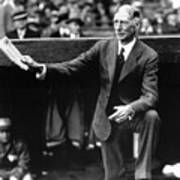 Connie Mack Poster