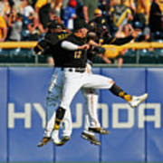 Corey Dickerson and Starling Marte Poster