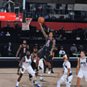 Dallas Mavericks v LA Clippers - Game One Poster