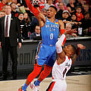 Damian Lillard and Russell Westbrook Poster