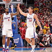 Deandre Jordan and Blake Griffin Poster