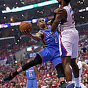 Deandre Jordan and Russell Westbrook Poster