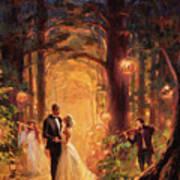 Deep Forest Wedding Poster