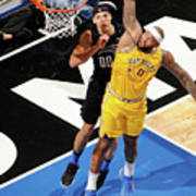 Demarcus Cousins and Aaron Gordon Poster