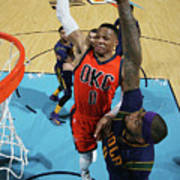 Demarcus Cousins and Russell Westbrook Poster