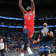 Demarcus Cousins and Taj Gibson Poster