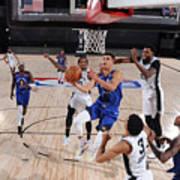 Denver Nuggets v San Antonio Spurs Poster