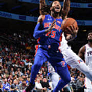 Derrick Rose and Joel Embiid Poster