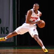 Detroit Pistons v Boston Celtics Poster