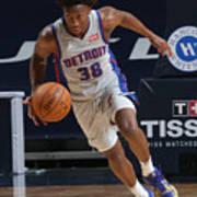 Detroit Pistons v New Orleans Pelicans Poster