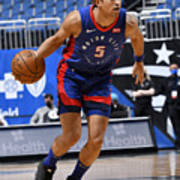 Detroit Pistons v Orlando Magic Poster