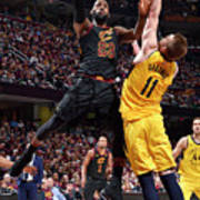 Domantas Sabonis and Lebron James Poster