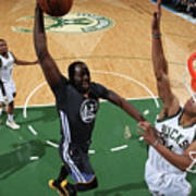 Draymond Green and Giannis Antetokounmpo Poster