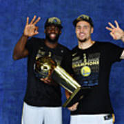 Draymond Green and Klay Thompson Poster