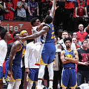 Draymond Green and Kyle Lowry Poster
