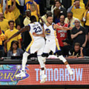 Draymond Green and Stephen Curry Poster