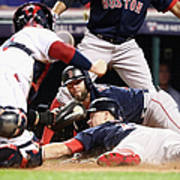 Dustin Pedroia and Brock Holt Poster