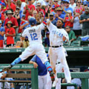 Elvis Andrus and Rougned Odor Poster